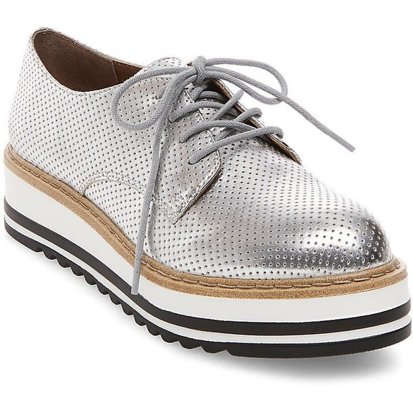 Steve Madden Women's Vassar Oxford Shoes ($90) ❤ liked on Polyvore  featuring shoes,