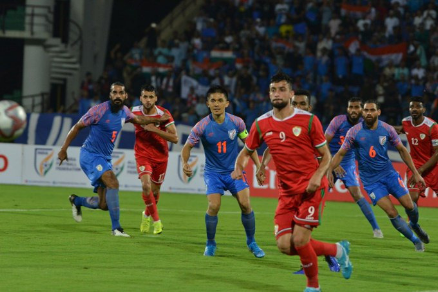 India Vs Oman Live Score And Updates Fifa World Cup 2022 Qualifier Al Mandhar Double Helps Oman Take 2 1 Lead In 2020