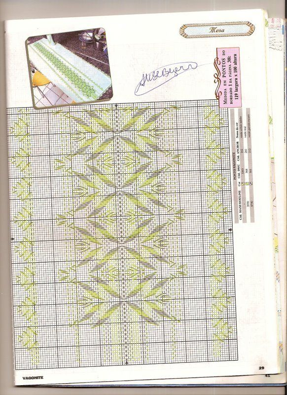 Vagonite - Rosilda Maria - Picasa Web Albümleri | Huck Embroidery ...
