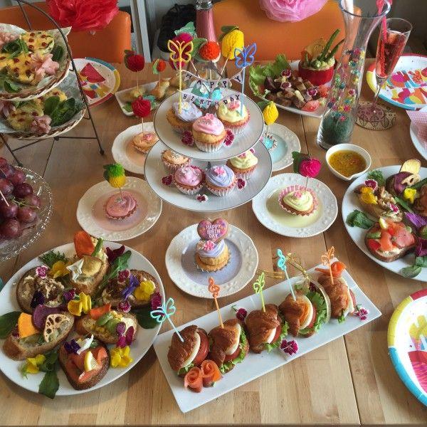 誕生日パーティーが盛り上がる 可愛い飾りつけ 手作りグッズ 子供 パーティー メニュー パーティーレシピ 誕生日パーティーメニュー