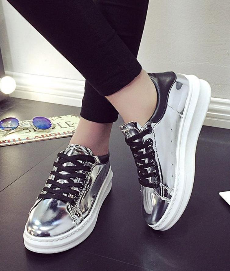 Shimmer #Platform #Sneakers