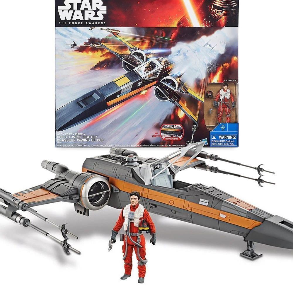 New Star Wars The Force Awakens Poe Dameron X Wing Fighter Toy Model Disney Fighter Model Disney Wing Dameron Wa Ultimate Star Wars Force Awakens Awakens