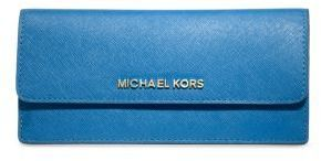 MICHAEL Michael Kors Jet Set Travel Slim Saffiano Leather Wallet on shopstyle.com
