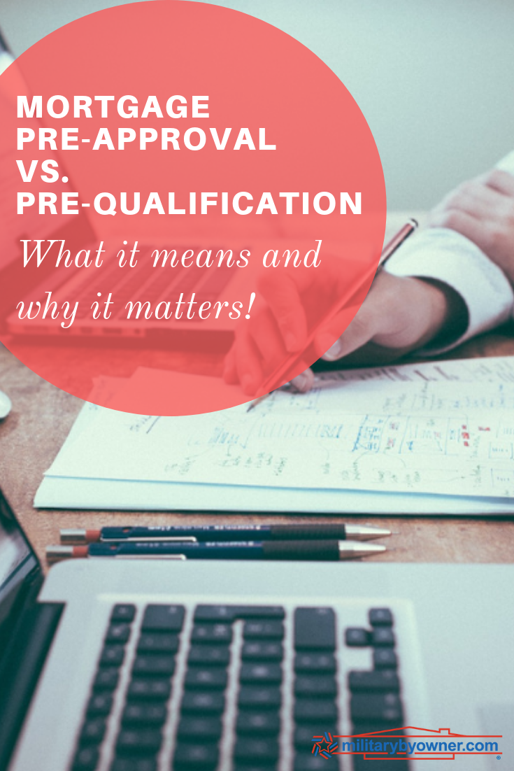 Mortgage Pre Qualification Vs Pre Approval What It Means And Why It Matters Preapproved Mortgage Mortgage Refinance Mortgage