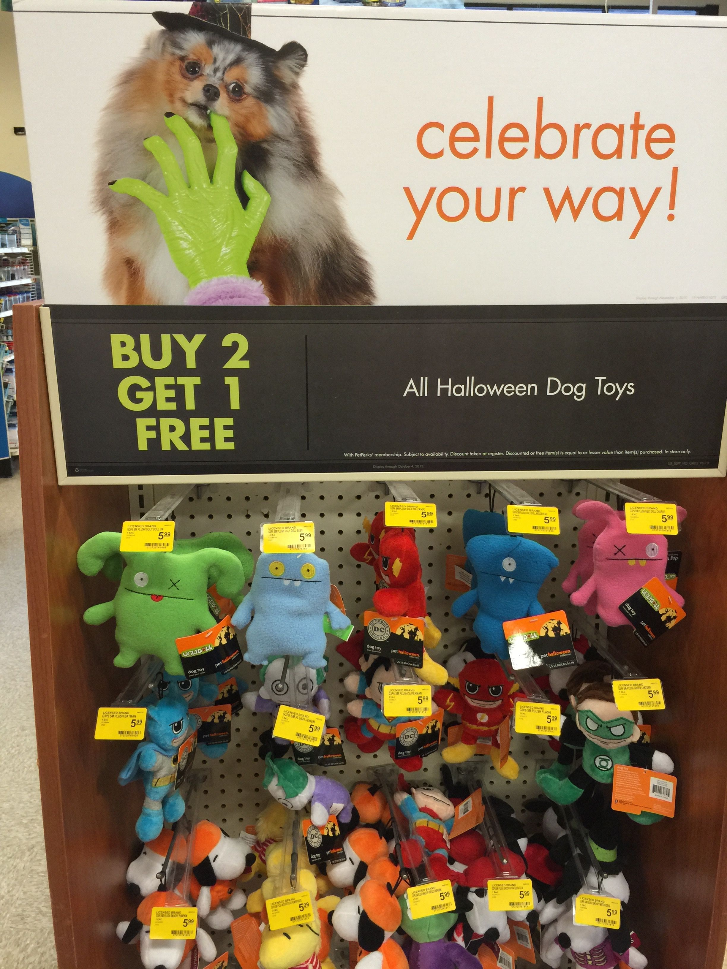 Sprout At Petsmart Dog Halloween Dog Toys Dogs