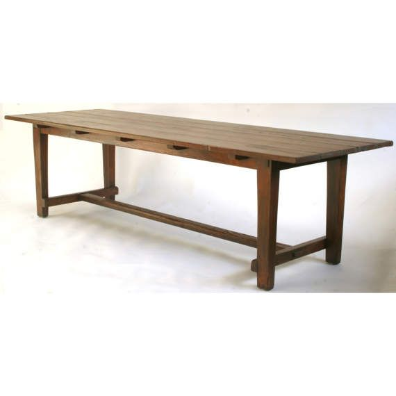 552 Rustic Oak Table Harvest Table Farm Table Farmhouse Table