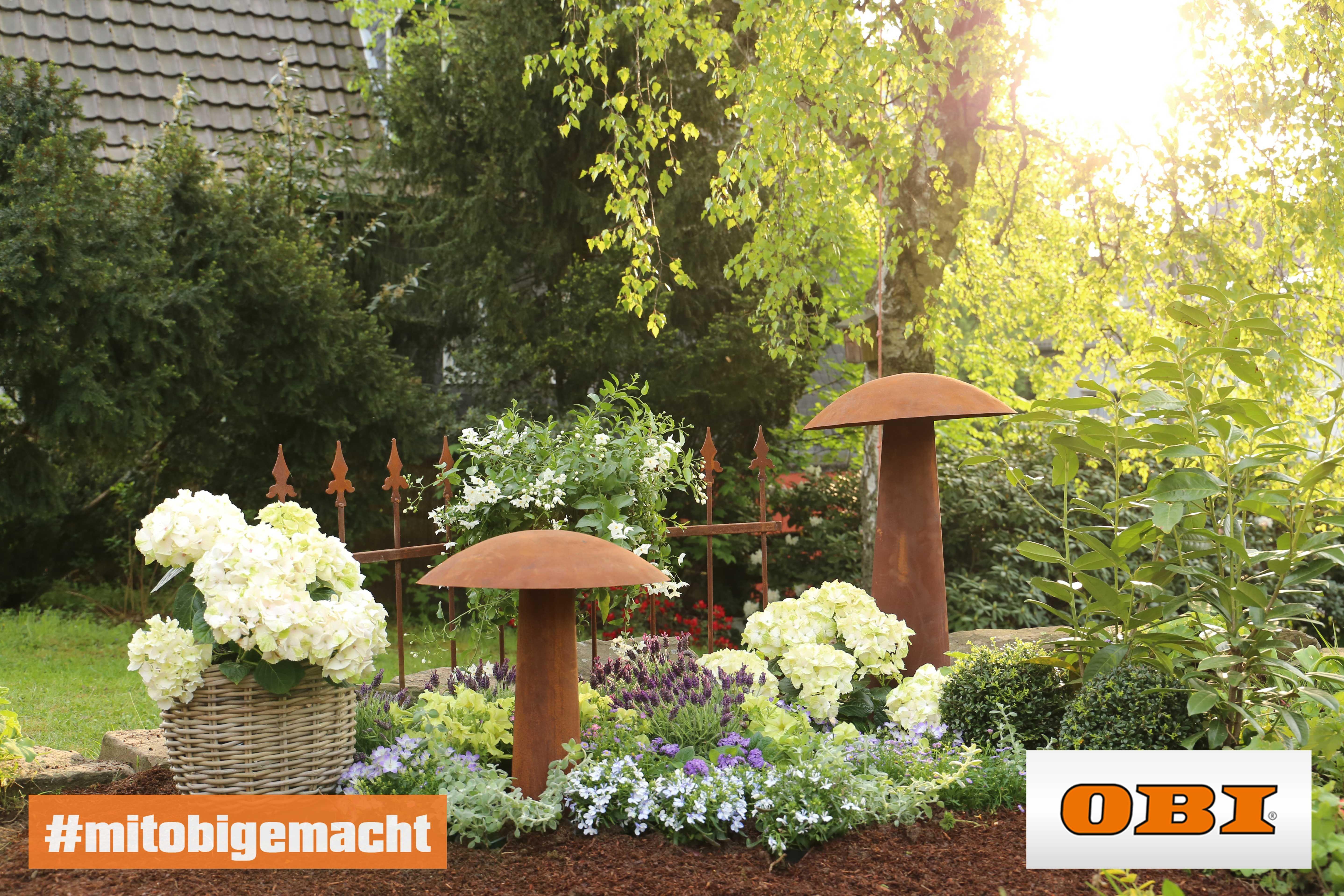 Blumenbeet Gestalten Tipps Zur Farbkomposition Obi Blumenbeet Gestalten Blumen Pflanzen