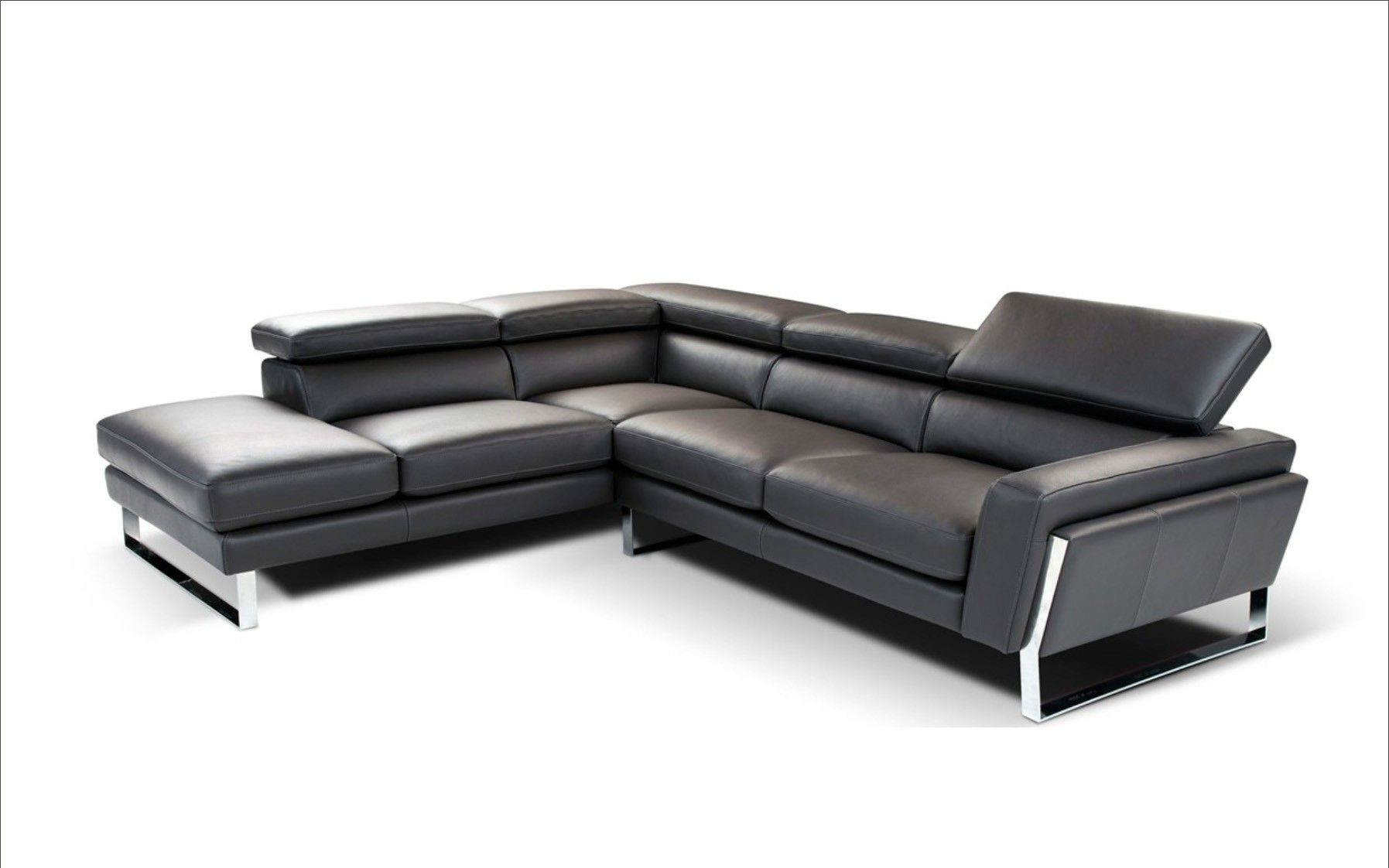 Napoli Modern Black Italian Leather Sectional Sofa Italian Leather Sectional Sofa Modern Sofa Sectional Leather Sectional Sofa