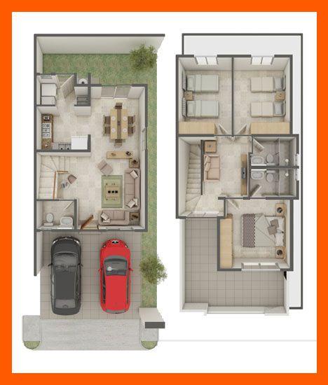 Planos de casas plantas arquitect nicas de casas y for Ideas distribucion casa