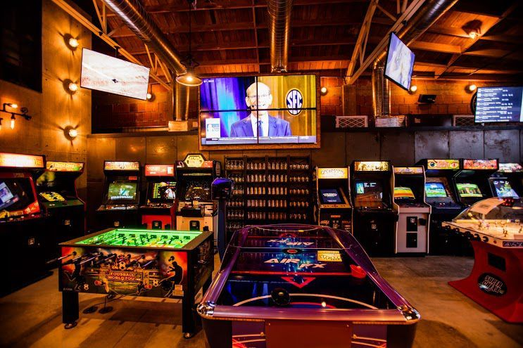 All New Arcade Bar Coin Haus Arrives In La Mesa Eater San Diego