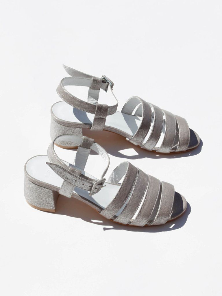 Maryam Nassir Zadeh Metallic Ankle Strap Sandals new styles cheap price sale 2014 new cheap price for sale cheap price in China TazpTeZrh
