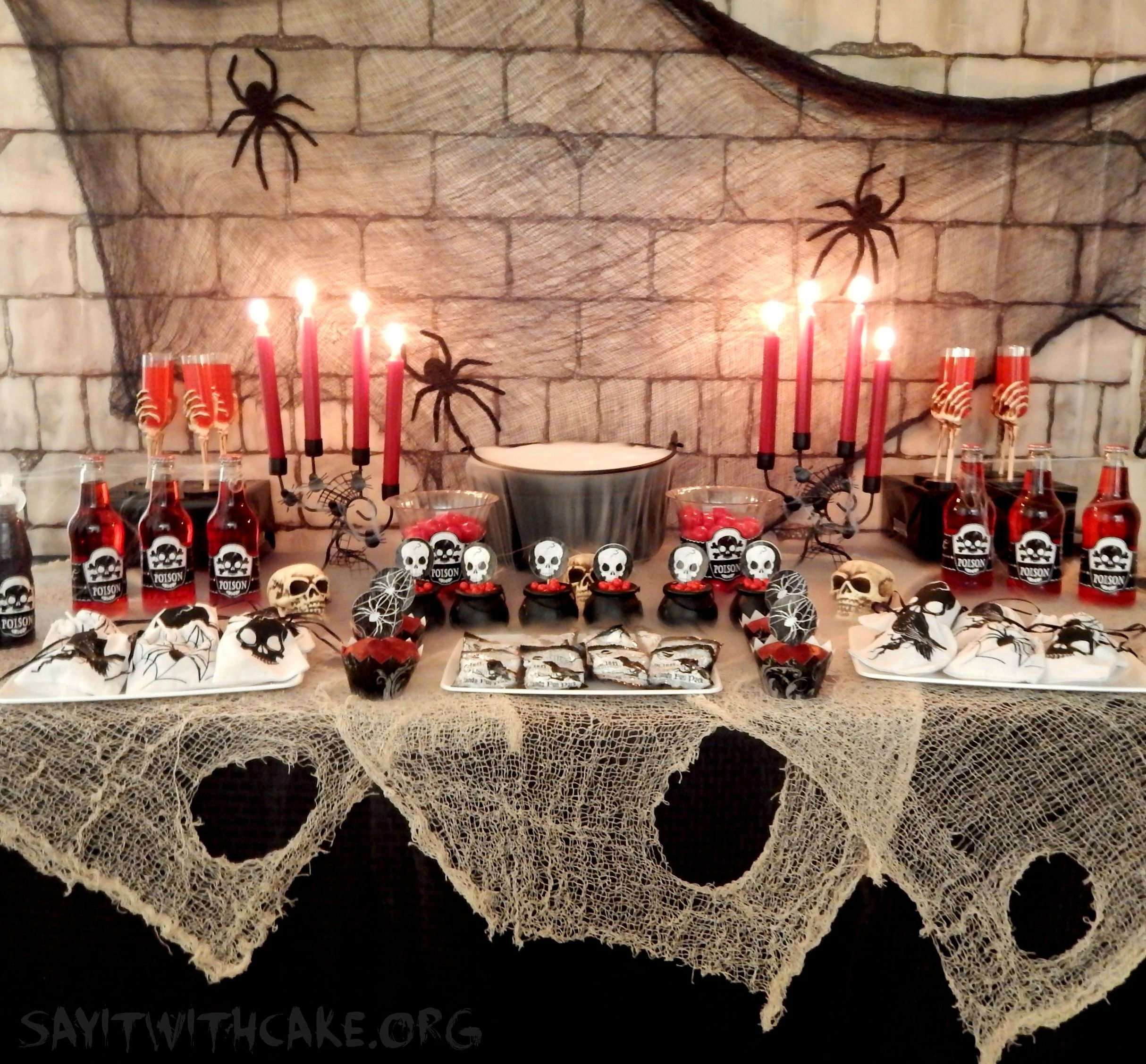 Halloween birthday party decorations - Halloween Party For Kids
