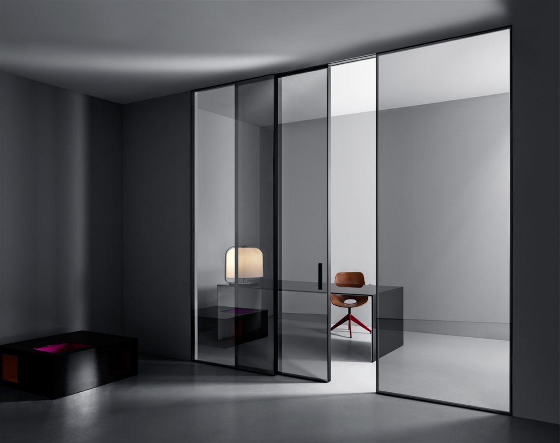 Lualdi shoin glass door wall system moderne schuifdeuren op