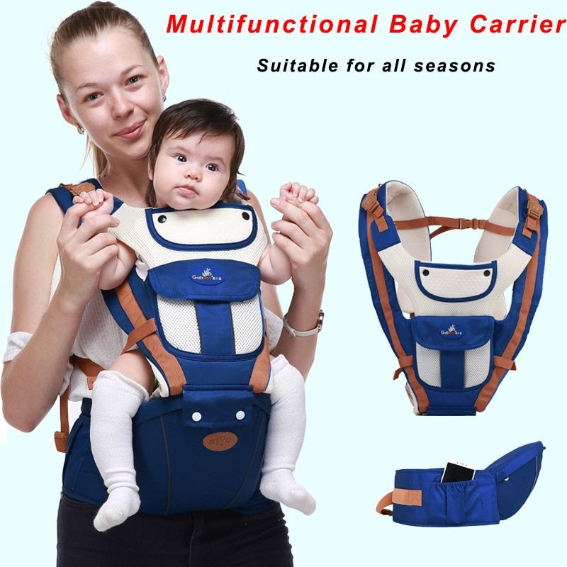 For Sale Multifunctional Baby Carrier Breathable Front Baby Kangaroo Bag Facing Baby Carrier Infant Bac In 2020 Ergonomic Baby Carrier Baby Carrier Ergonomic Carrier