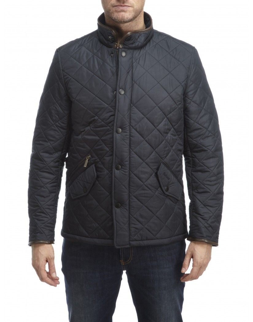 Barbour Men's Powell Quilted Jacket - Navy MQU0281NY71 | Barbour ... : barbour quilted lutz jacket - Adamdwight.com