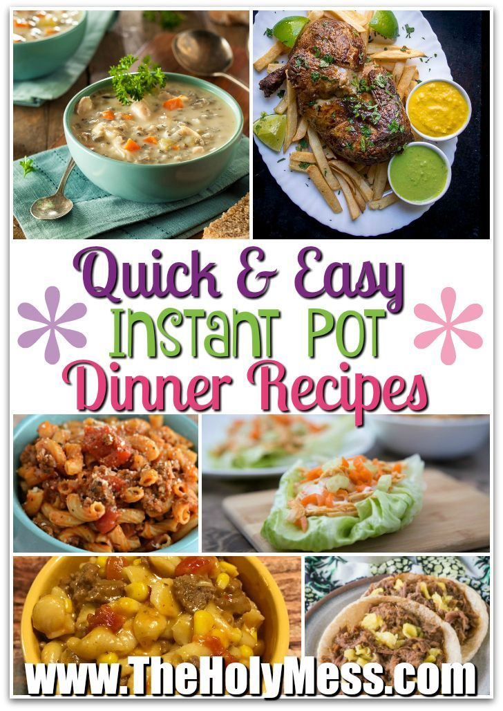 15 quick and easy instant pot dinners instant pot dinners and easy 15 quick and easy instant pot dinners pressure cooker mealsinstant forumfinder Gallery