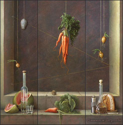 Realistische Kunst Realismus Malerei Bilder Maler Zeitgenossische