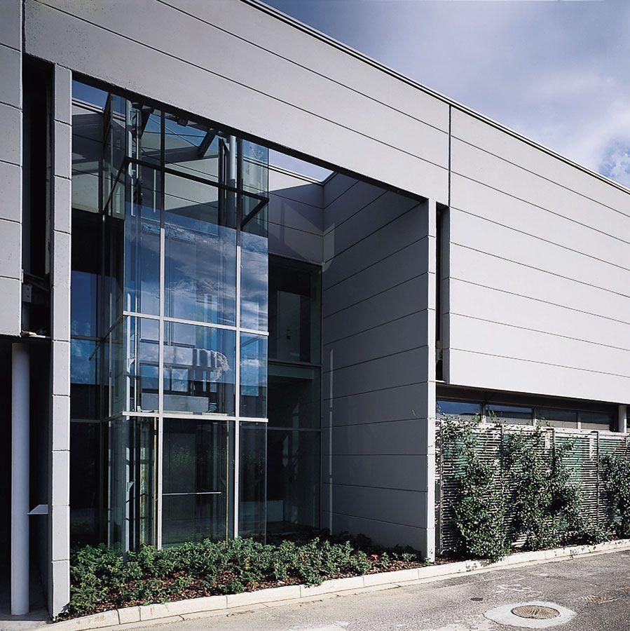 capannone prefabbricato prada design architettura