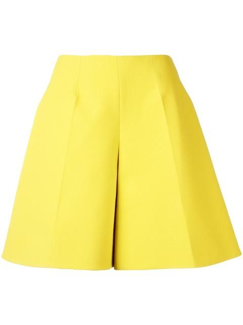 Cotton Bermuda Shorts with Frill Spring/summer Delpozo