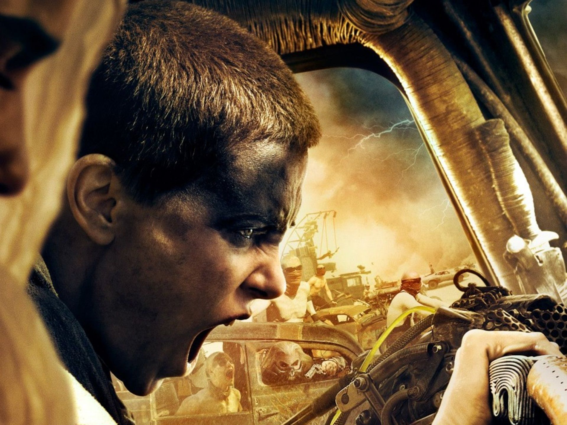 Charlize Theron Mad Max Mad Max Fury Road Charlize Theron As Imperator Furiosa Wallpaper Films Complets Peinture Figurine Film Entier