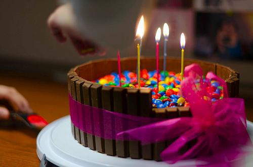 Awesome Birthday Cake Ji Ji Kiki Cute Colourful Pinterest