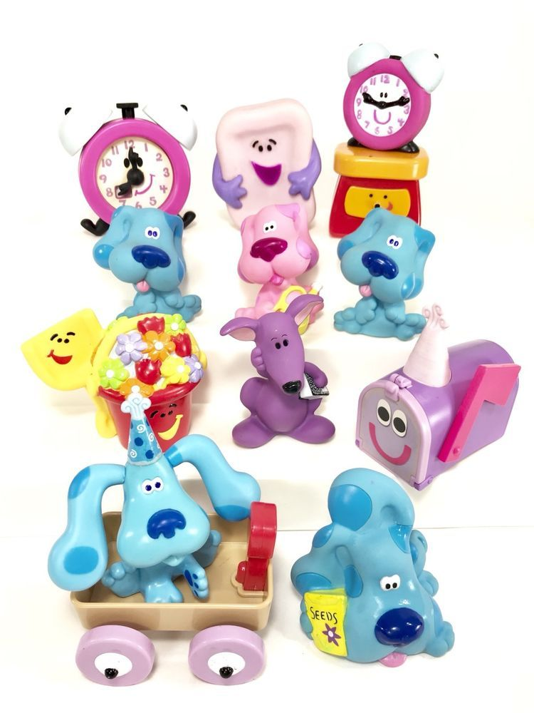 Nick Jr Nickelodeon Blues Clues Figurines Toy Lot Ebay Blues Clues Toys Kids Toys