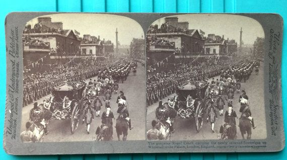 Stereoscope Stereoview 3D Photo Card 1902 Era by LeftoverStuff