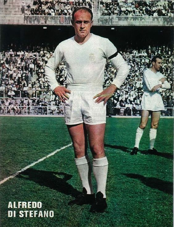 Alfredo Di Stefano of Real Madrid in 1961. in 2020 Real