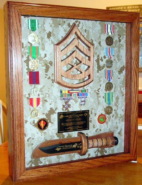 Shadow Boxes | RedNecK WoodWorKs | military | Pinterest | Shadow box ...