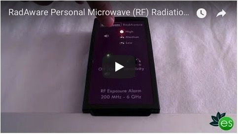 My Review Of The Radaware Personal Microwave Radiation Exposure Alarm
