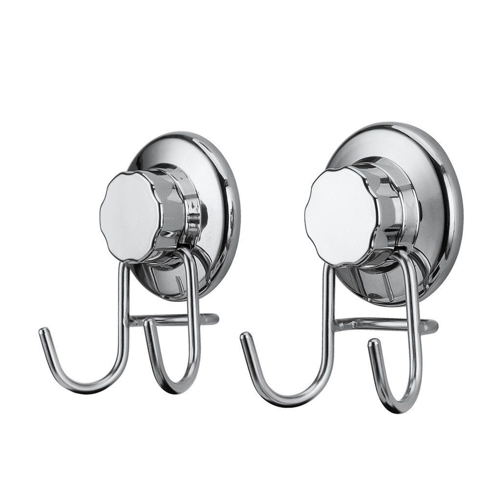 Bathroom Accessories With Suction Cups sanno shower holder hooks with suction cup heavy duty 304