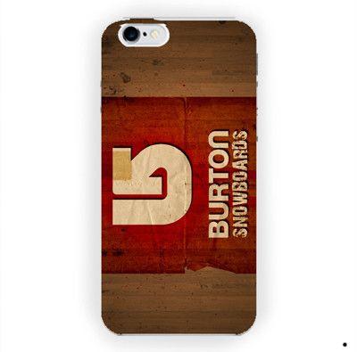 New Burton Snowboards Sport Logo M For iPhone 6 / 6 Plus Case