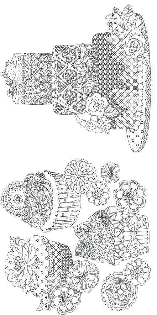 Free Downloadable Adult Coloring Greeting Cards Adult coloring - best of coloring page of a hair brush