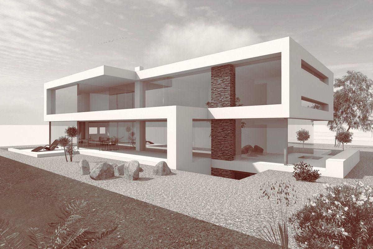 Modernes Flachdachhaus bauen, Flachdachhäuser mit FLOW | Architecture