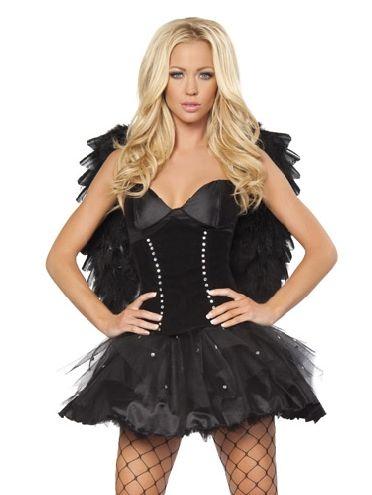 Sexy Dark Angel Costume Halloween ) !!! Pinterest Costumes - sexy halloween decorations