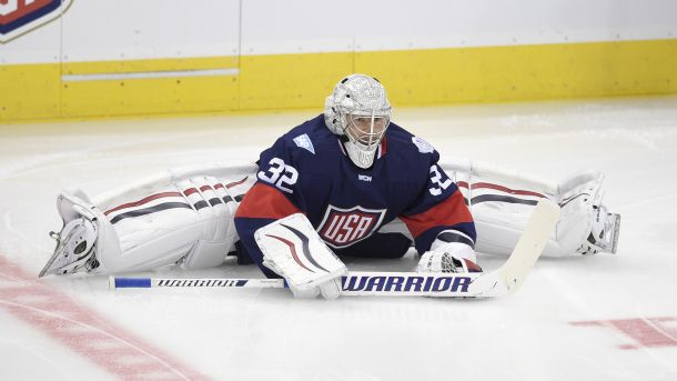 No Doubt About It Quick Will Be The Starter For Team Usa Hockey