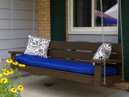 Front porch swing do it yourself home projects from ana white front porch swing do it yourself home projects from ana white solutioingenieria Choice Image