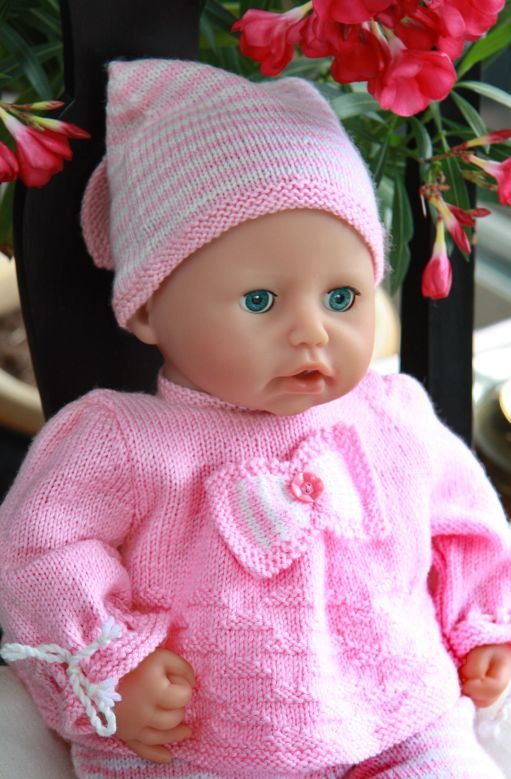 Model 0043 SARA - baby doll knitting pattern. | Knitting /Crochet ...