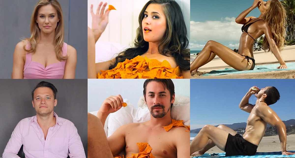 If women's roles in ads were played by men