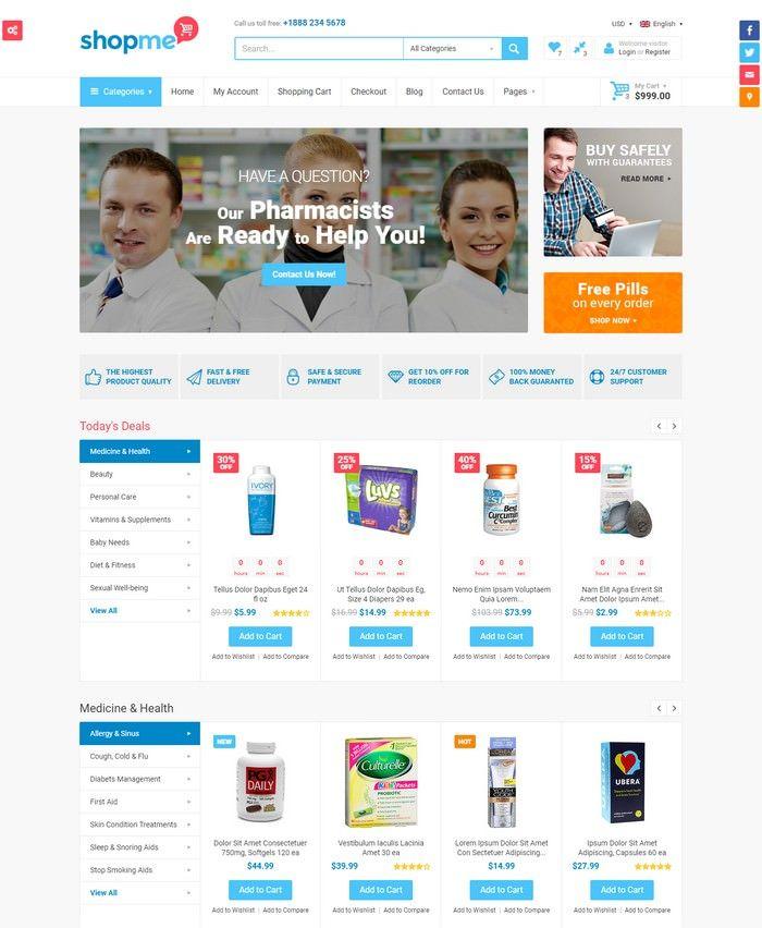 30+ Best E-commerce HTML Website Templates 2020