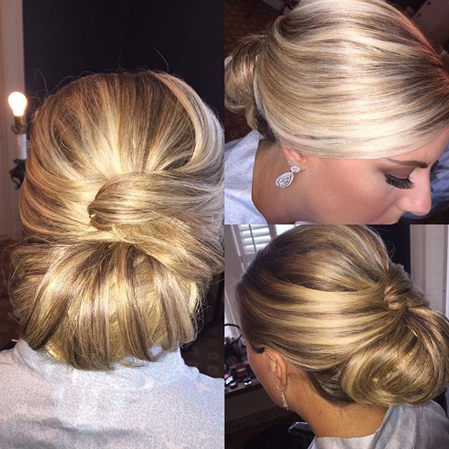 Top 100 bridesmaids hairstyles photos Loving these #glamorous #hairstyles #bridesmaids #bridesmaidhair #bridesmaidshairstyles #sleekbun #classy #specialoccasionstylist #hairoftheday by Tammy of #melissadaloiaco #njhairstylist #hairprofessionals @fiddlerselbowcc See more http://wumann.com/top-100-bridesmaids-hairstyles-photos/