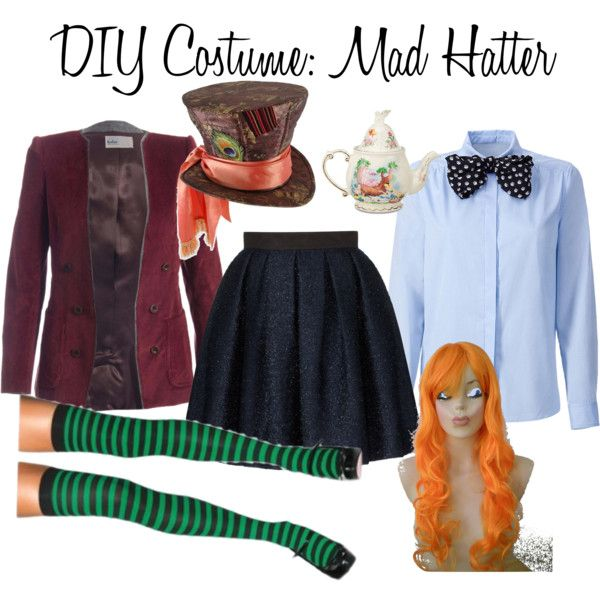 diy costume mad hatter costumes fasnet kost me. Black Bedroom Furniture Sets. Home Design Ideas