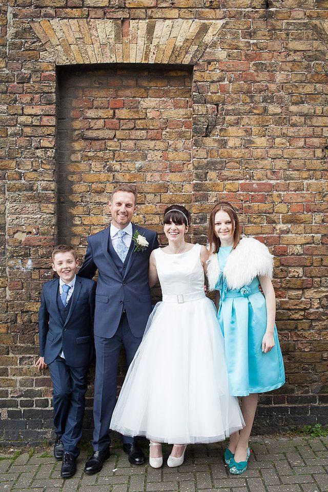 50s Style Wedding Dress Aberdeen House Ramsgate Registry Office Broadstairs Beach Kent
