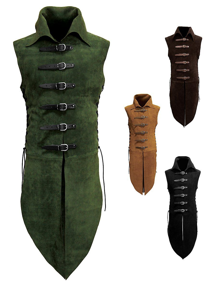 Leather Jerkin Wood Elf With Images Leather Armor Elf