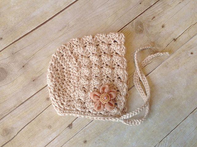 Victorian Baby Bonnet pattern by Crochet by Jennifer | Babymütze ...