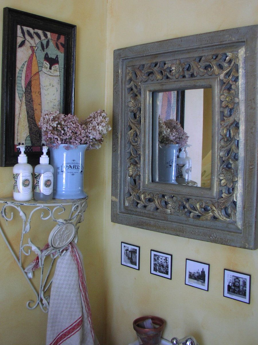 French country decorating bathroom - French Country Bathroom