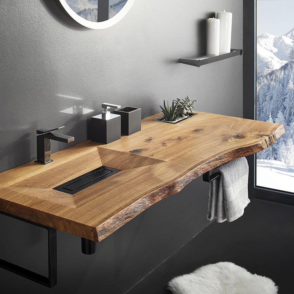 Photo of Referenties & garantie van onze houten wastafels #badkamerinspiratie, #aus #badezimm …