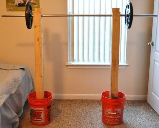 Squat Rack Home Made Gym Diy Home Gym Squat Rack Diy
