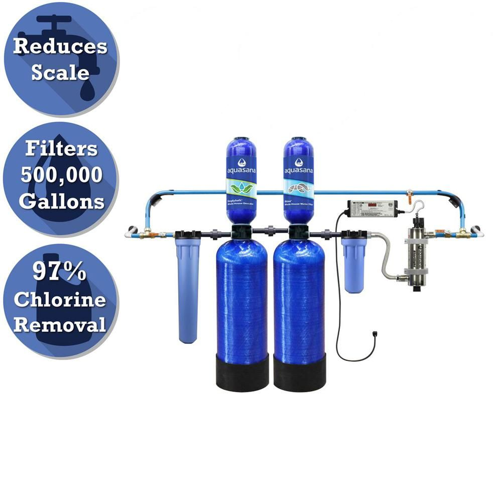 Aquasana Rhino Series 6 Stage 500 000 Gal Well Water Filtration