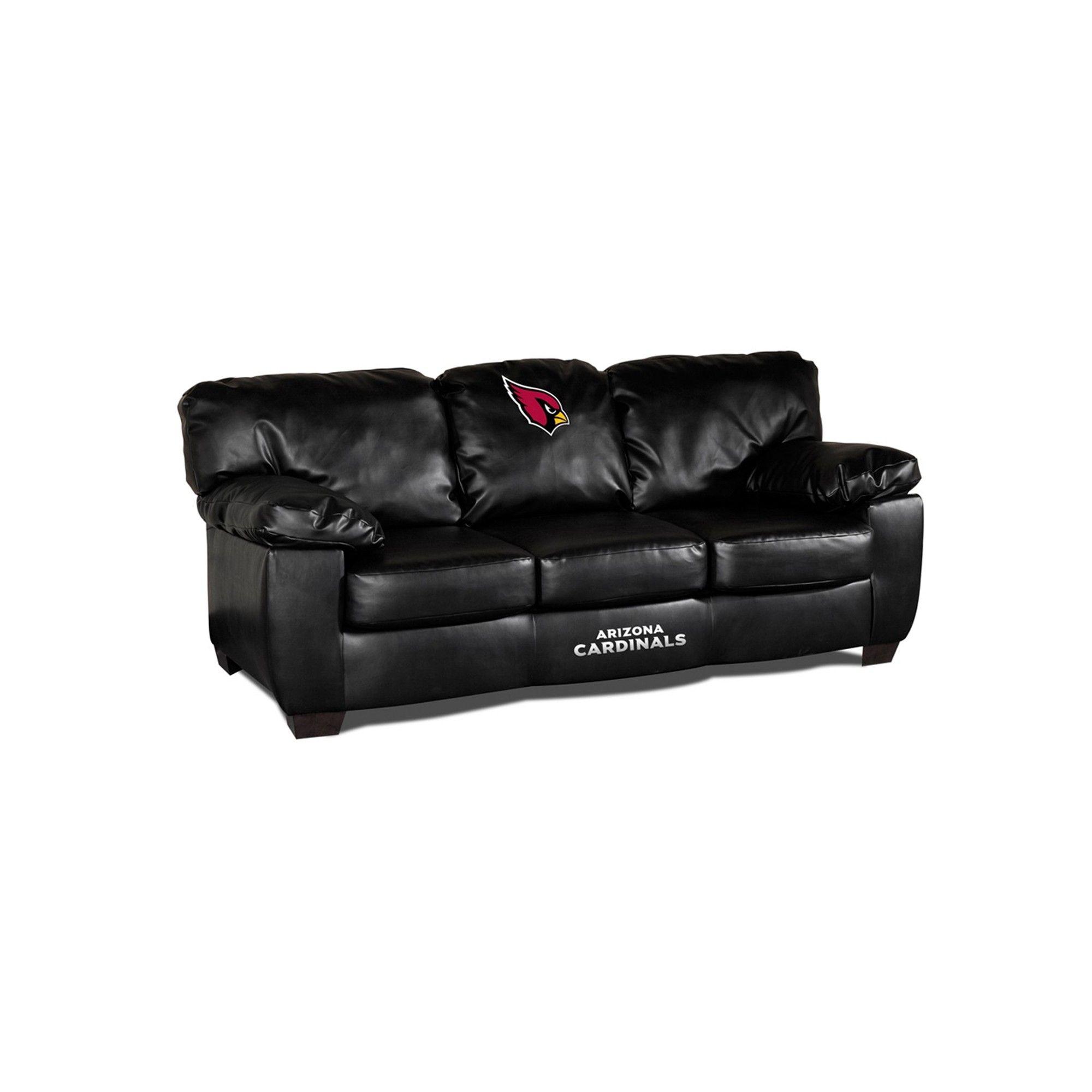 Arizona Cardinals Classic Leather Sofa $1,129.99 Brand